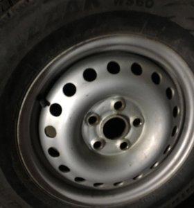 Зимние шины диски колеса т4