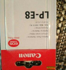 Аккумулятор для камеры Canon 550D / 600D / 700D (L
