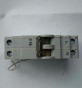 Автоматический выключатель ВА 6325 ухл4 16а