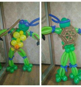 Воздушные фигуры, шары!