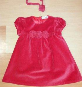Нарядное платье на девочку.размер 80