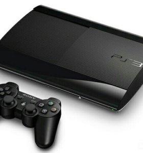 PS3 Super Slim 500GB (ПОЛНЫЙ КОМПЛЕКТ!)