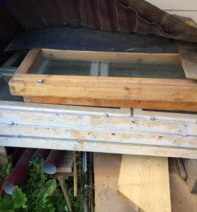 Рамы оконные деревянные