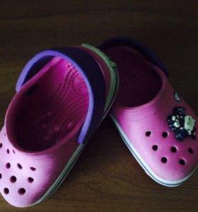 Шлепки детские crocs