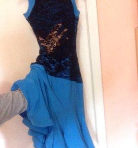 Платье для латины тренировочное для бальных танцев
