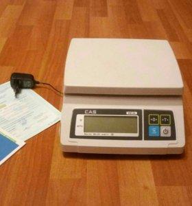 Весы электронные CAS sw-02