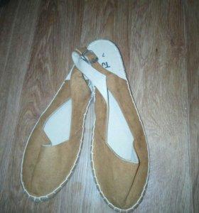 Эспадрильи, сандалии, балетки
