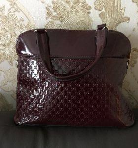 Новые сумки лакированные