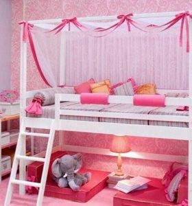Кровать чердае