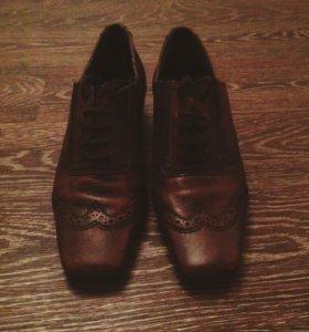 Ботинки. Натуральная кожа