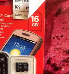 microSD 16Gb(Карта памяти)