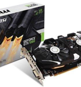 Видеокарты MSI GTX 1060 6 GB