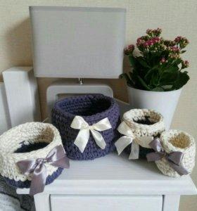 Новые корзинки для цветочных горшков под заказ
