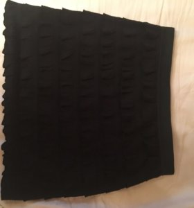 Чёрная юбка промод