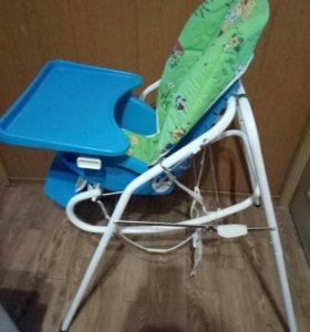 Детский стул для кормления-качели