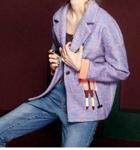 Новый жакет-пальто