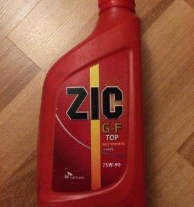 Масло трансмиссионное Zic g-f 75w90 синтетика