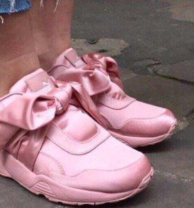 Пума розовые