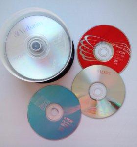 Пустые диски болванки