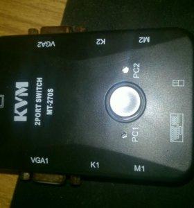 kvm 2 port switch mt-270s