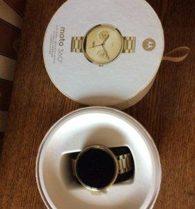 Moto 360 Gold (Умные Часы)