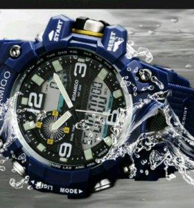 Часы спортивные водонепроницаемые.