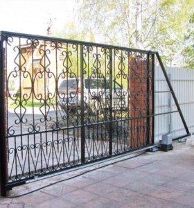 Откатные и гаражные ворота
