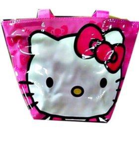сумка пляжная Hello kitty