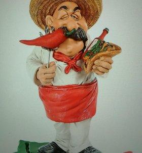 "Фигурка "" Шеф- повар Мексика """