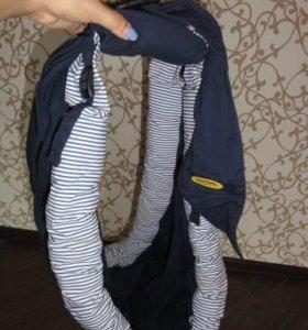 Слинг Selby Freedom (синий) для переноски ребенка