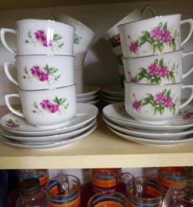 Чайный и кофейный набор