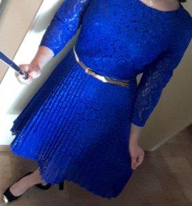 Платье гипюровое (новое)