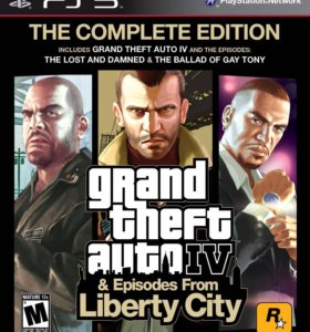 GTA 5, GTA 4, GTA episodes liberty city для Ps3