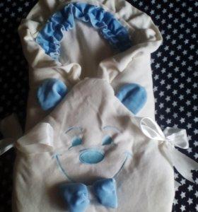 Детский конверт - одеяло.