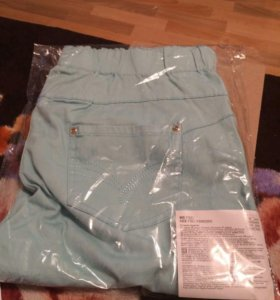 брюки мятного цвета