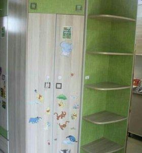 Шкаф угловой в детскую
