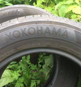 Шины YOKOHAMA r15 2 штуки