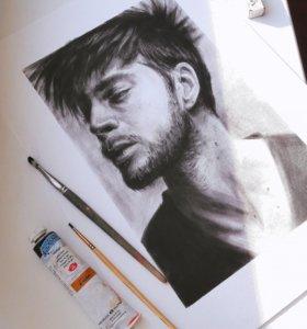 Рисую портреты по фото
