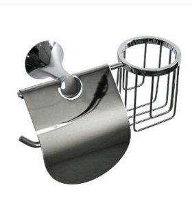 Держатель для туалетной бумаги с подставкой для ос