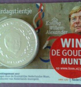 NUM Памятная монета 10 евро