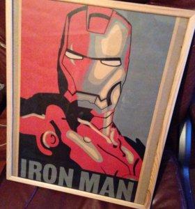 Арт-Плакат Iron Man