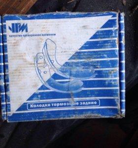 Задние тормозные колодки на ВАЗ 2110