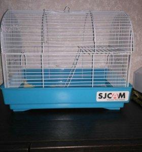 Клетка для хомяков и мышей+подарки