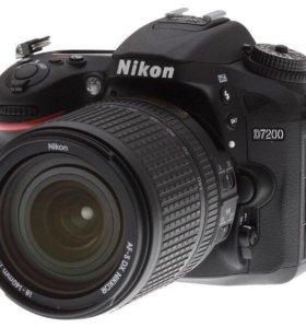Nikon D7200 Kit 18-105