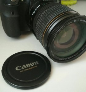 Canon EF-S 17-55 mm.