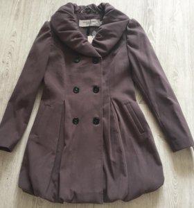 Пальто Burberry. Пудровый цвет. Новое.