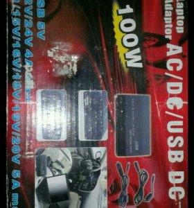 Приобразователь тока в машину.с 12v-220v.