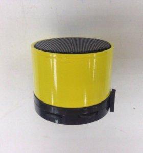 колонка S-10 (bt,fm,usb,aux,tf) желтый