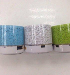 колонка Music mini (bt,usb,tf) LED