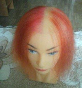 Голова для парикмахерской тренировки